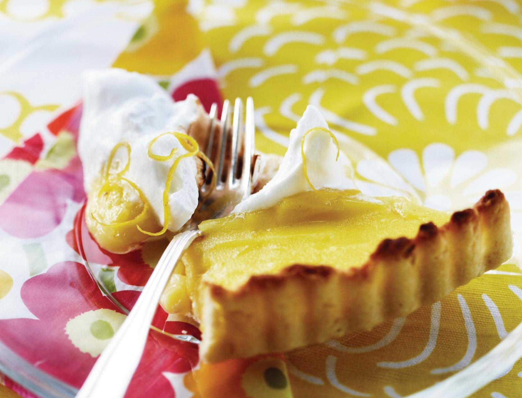 Citrontærte med marengslåg - en fransk klassiker
