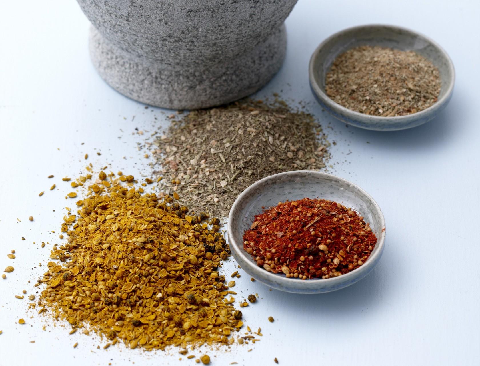 Hjemmelavet frisk asiatisk krydderi