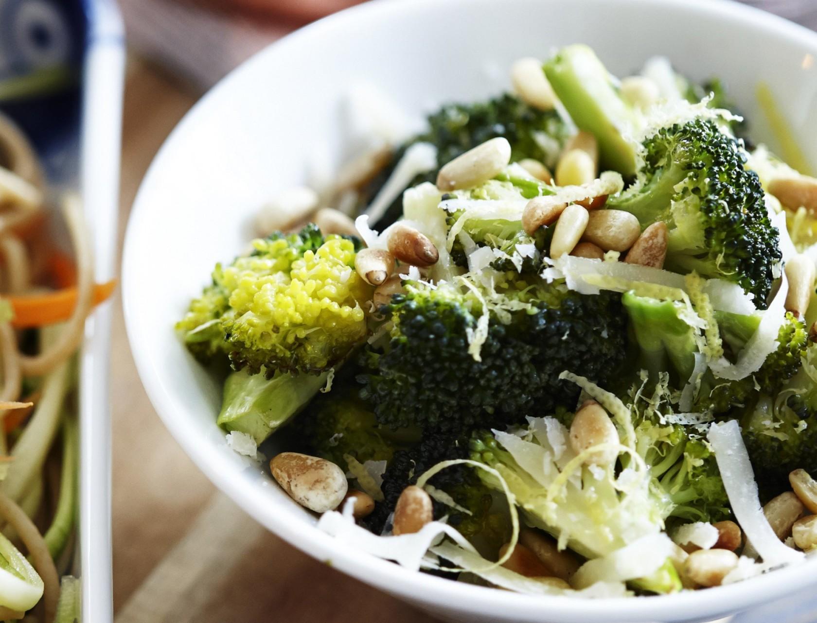 Ristet broccoli - sundt og lækkert tilbehør