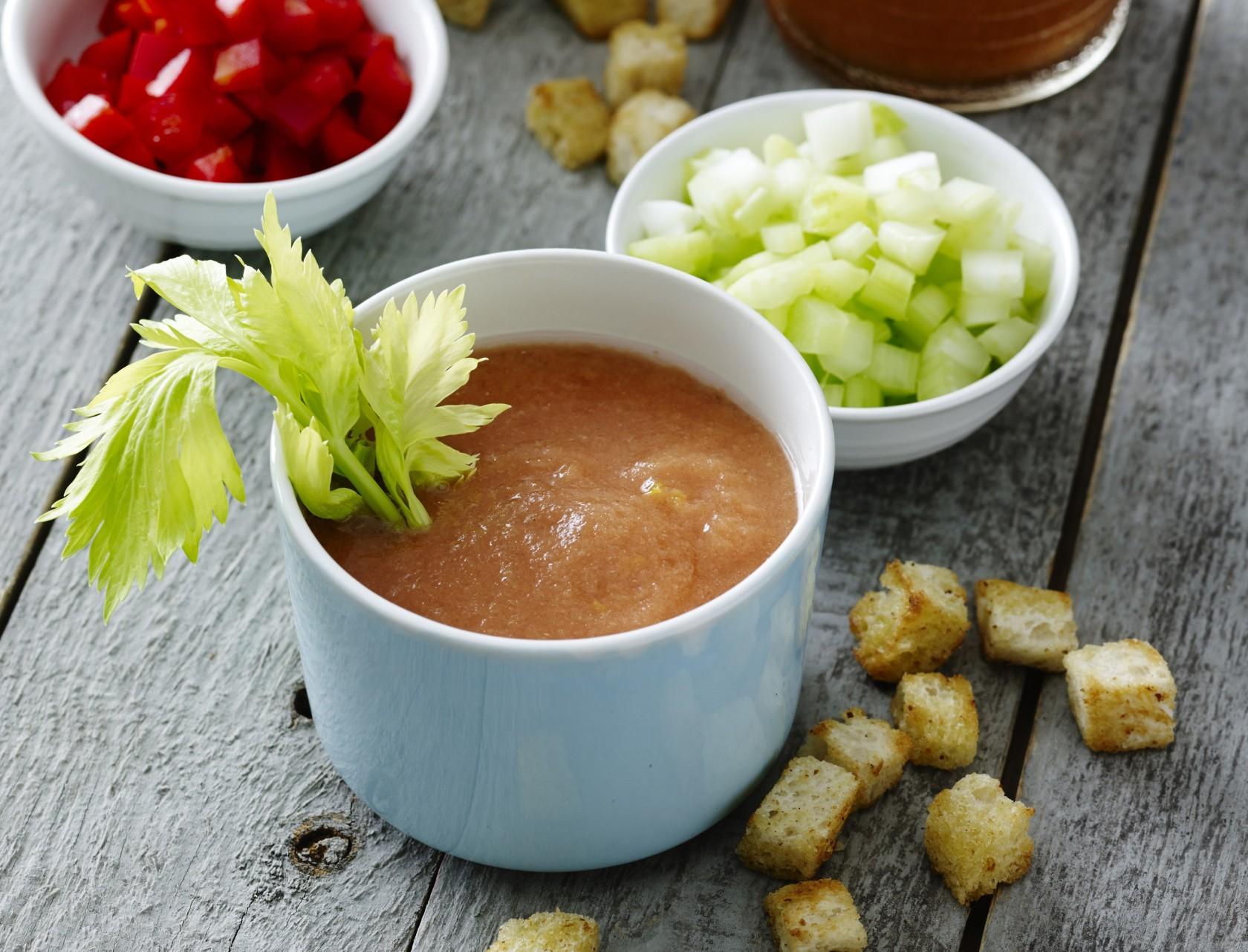 Gazpacho - den lækreste, kolde suppe