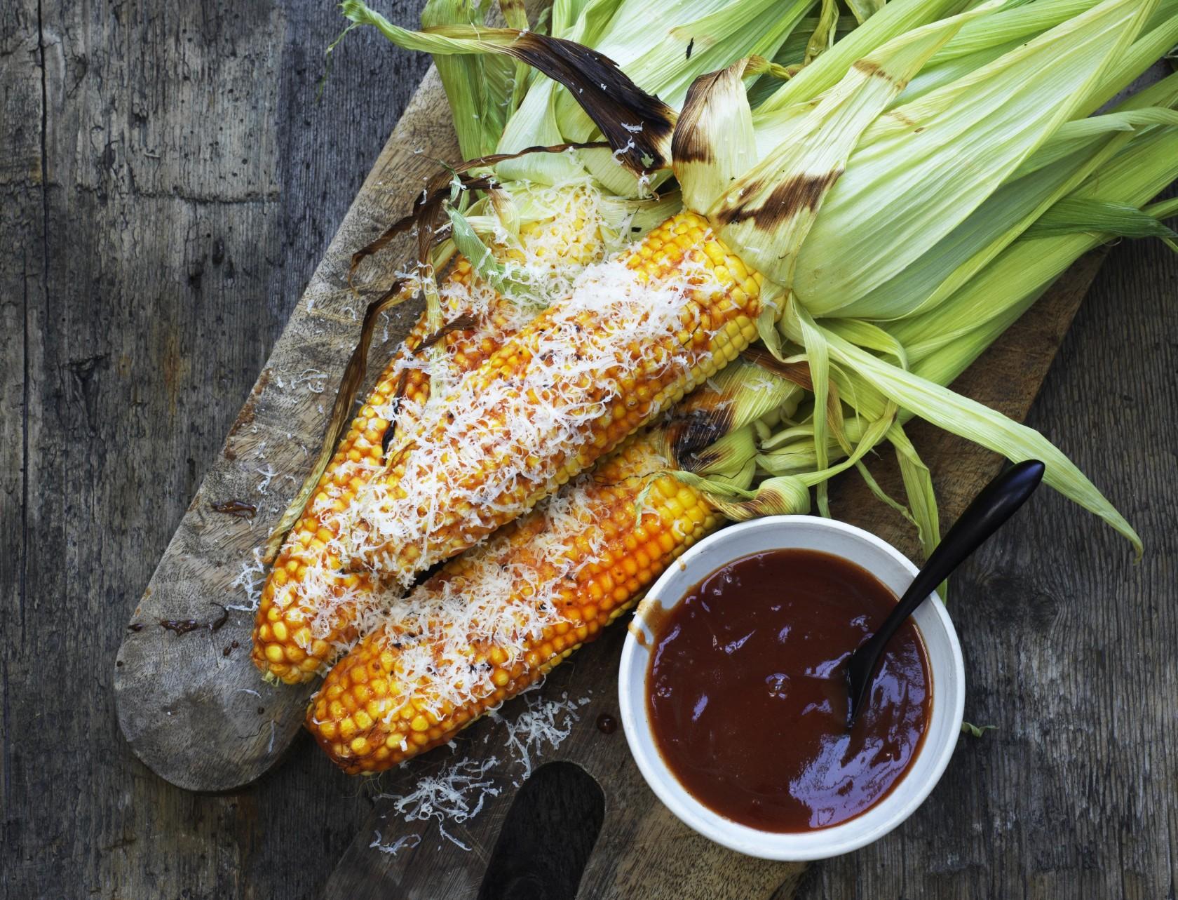 Grillede majs - det perfekte tilbehør