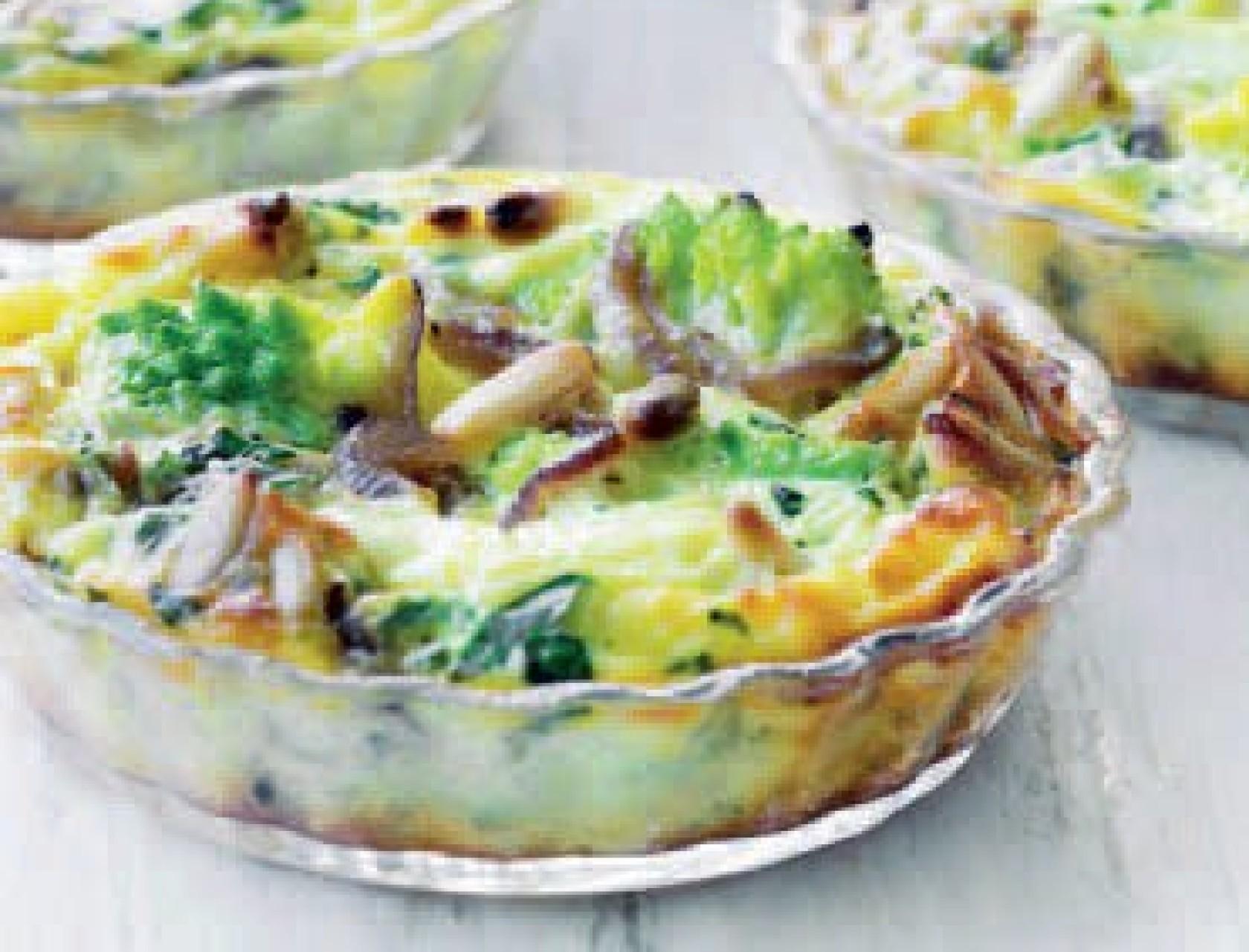 Nem grøntsagstærte til frokost