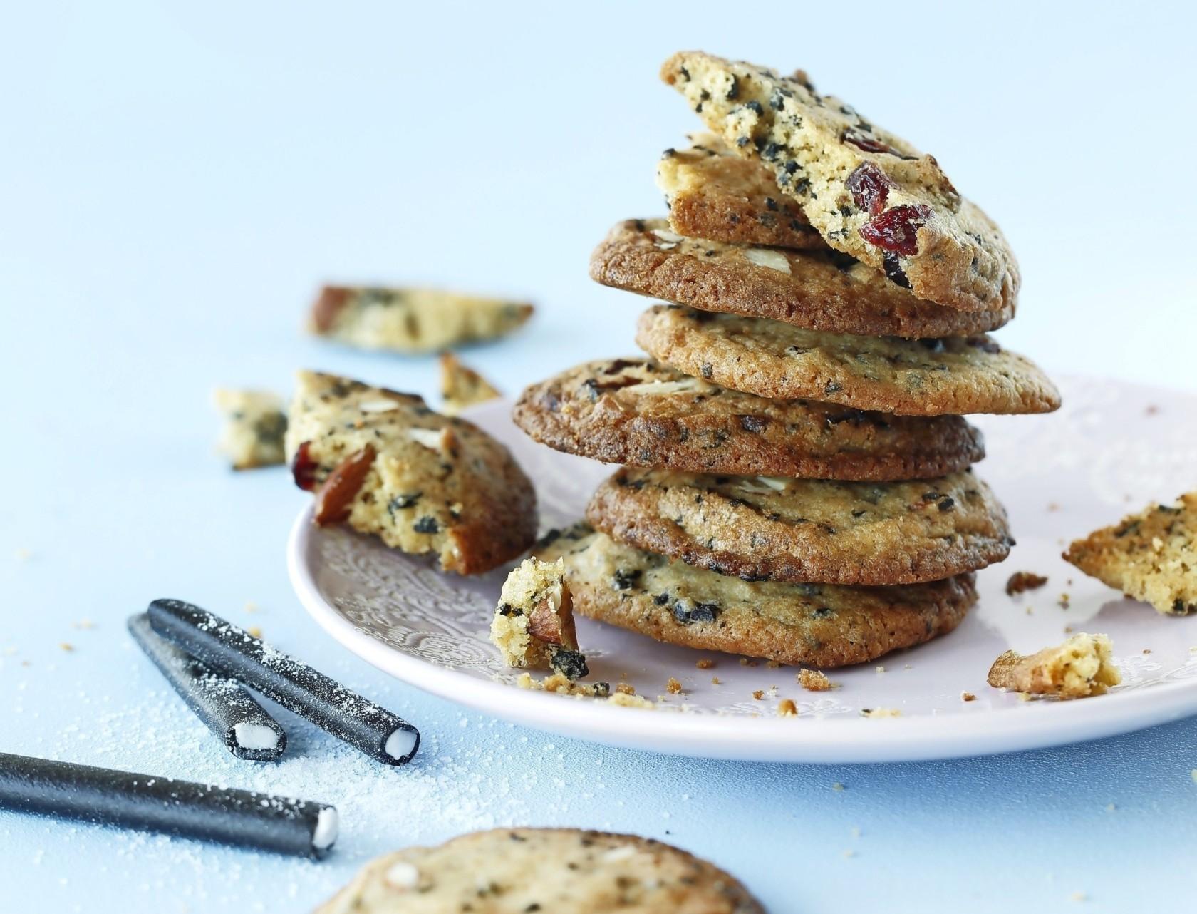 Cookies med Super Flyers - nem og lækker opskrift med slik.