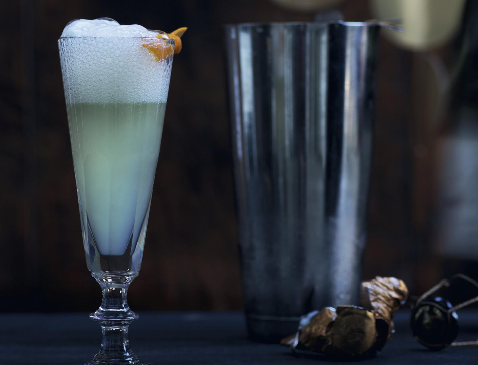 Lækker opskrift på cocktailen French 75