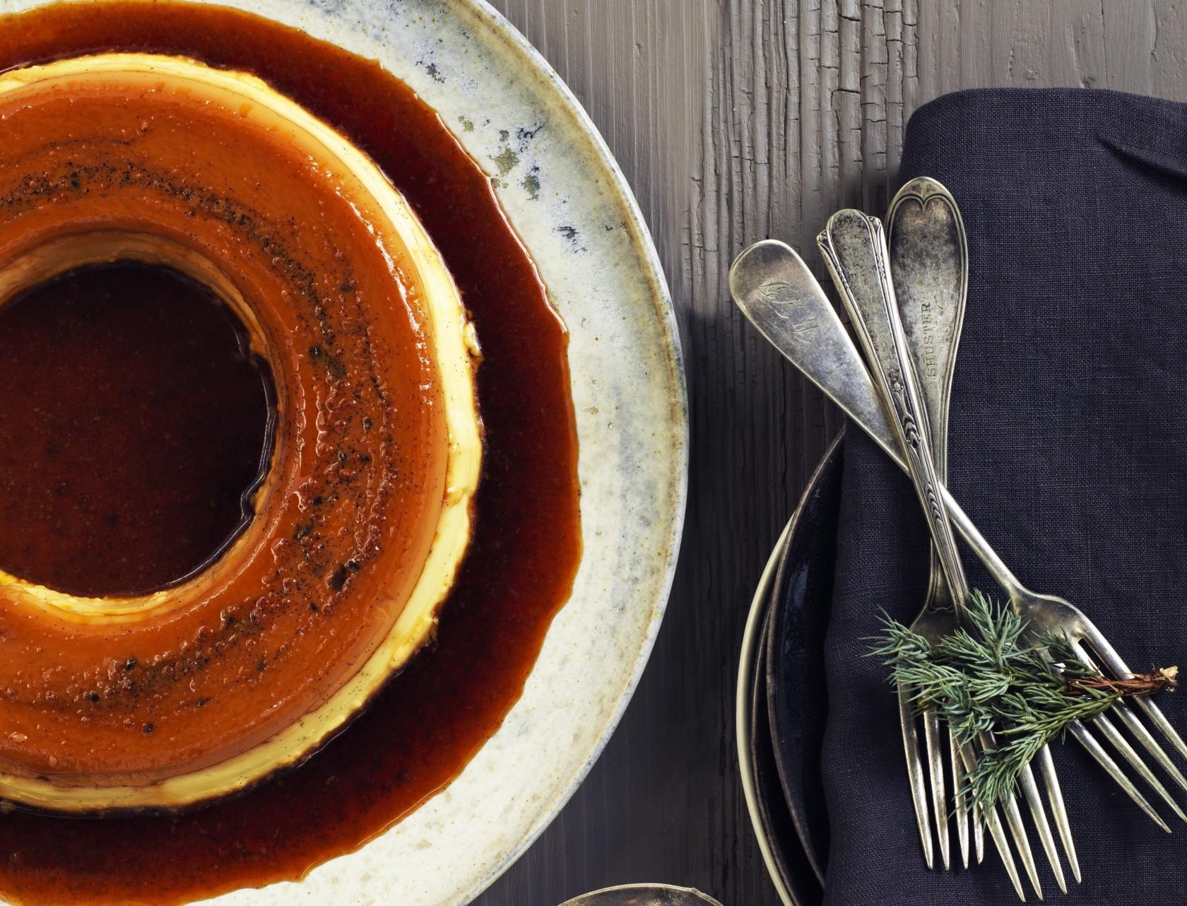 Karamelrand – lækker opskrift på creme caramel i randeform.