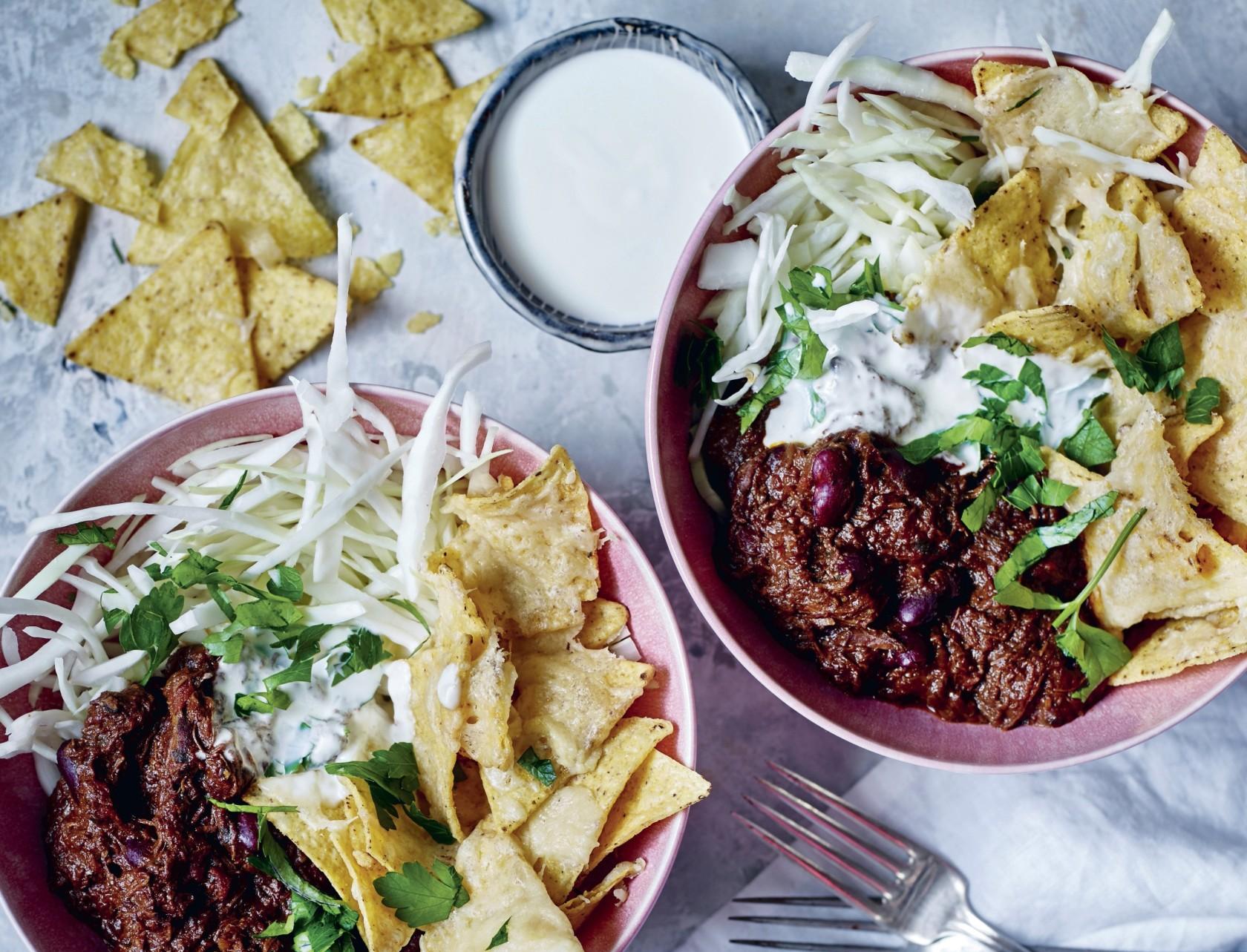 Pulled chili con carne - virkelig lækker opskrift!