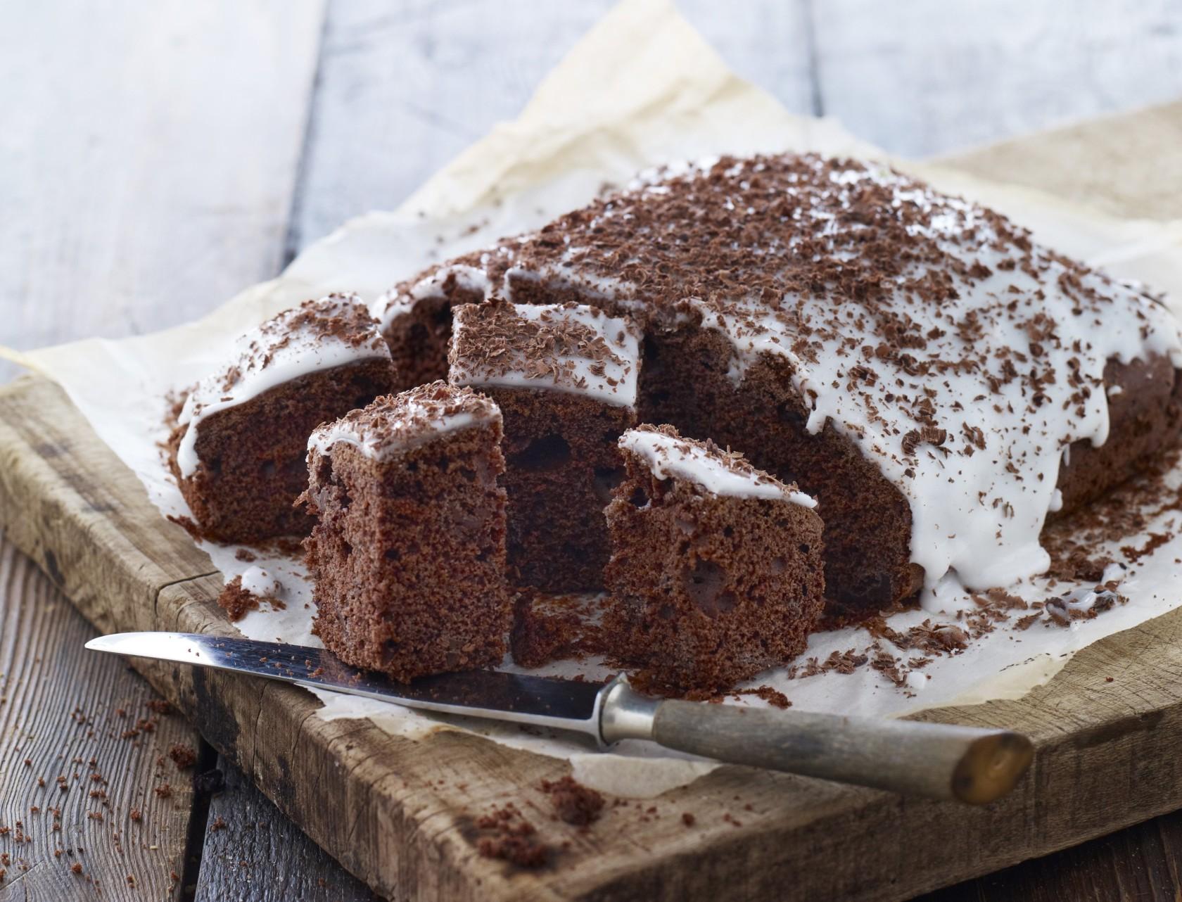Nem og lækker opskrift på klassens time-chokoladekage