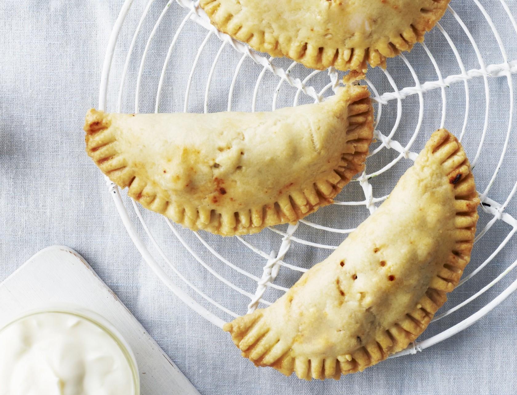 Empanadas med svinekød - lækker opskrift til madpakken!