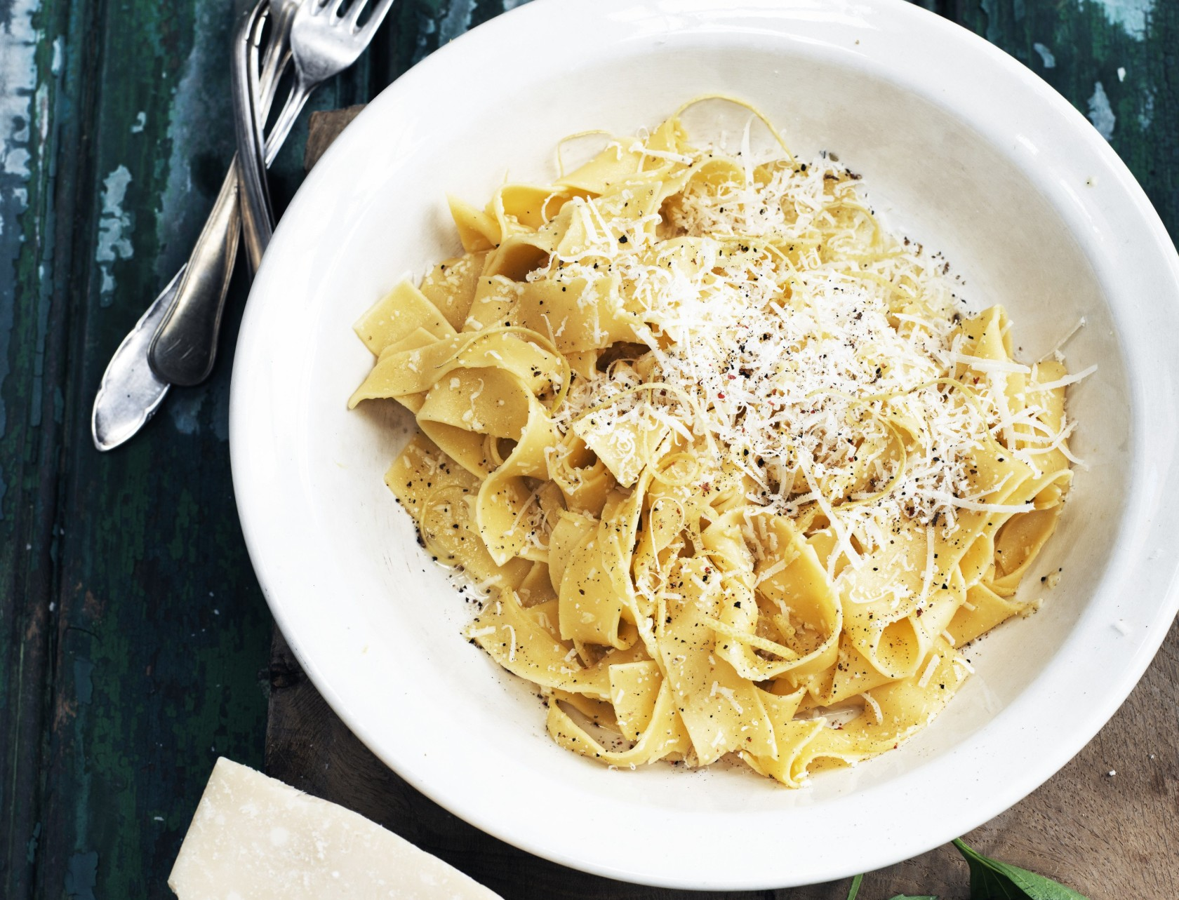 Pasta med citronsauce - virkelig lækker italiensk opskrift!
