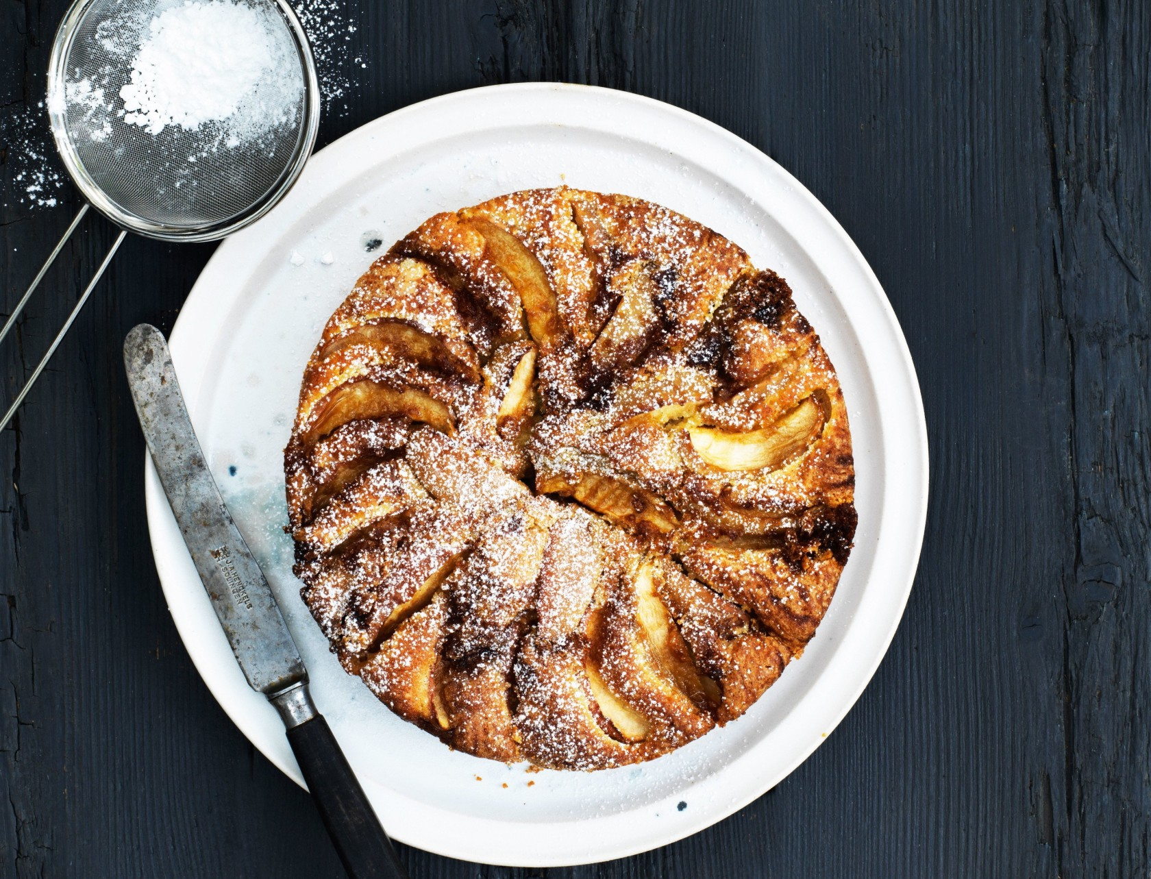 Frisk og lækker æblekage med kanel