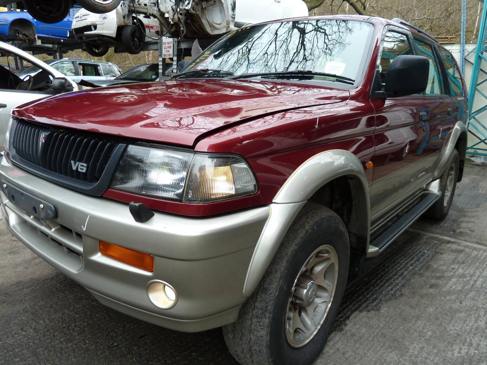 Image for a MITSUBISHI CHALLENGER/SHOGUN SPORT 1999 5 Door Hatchback