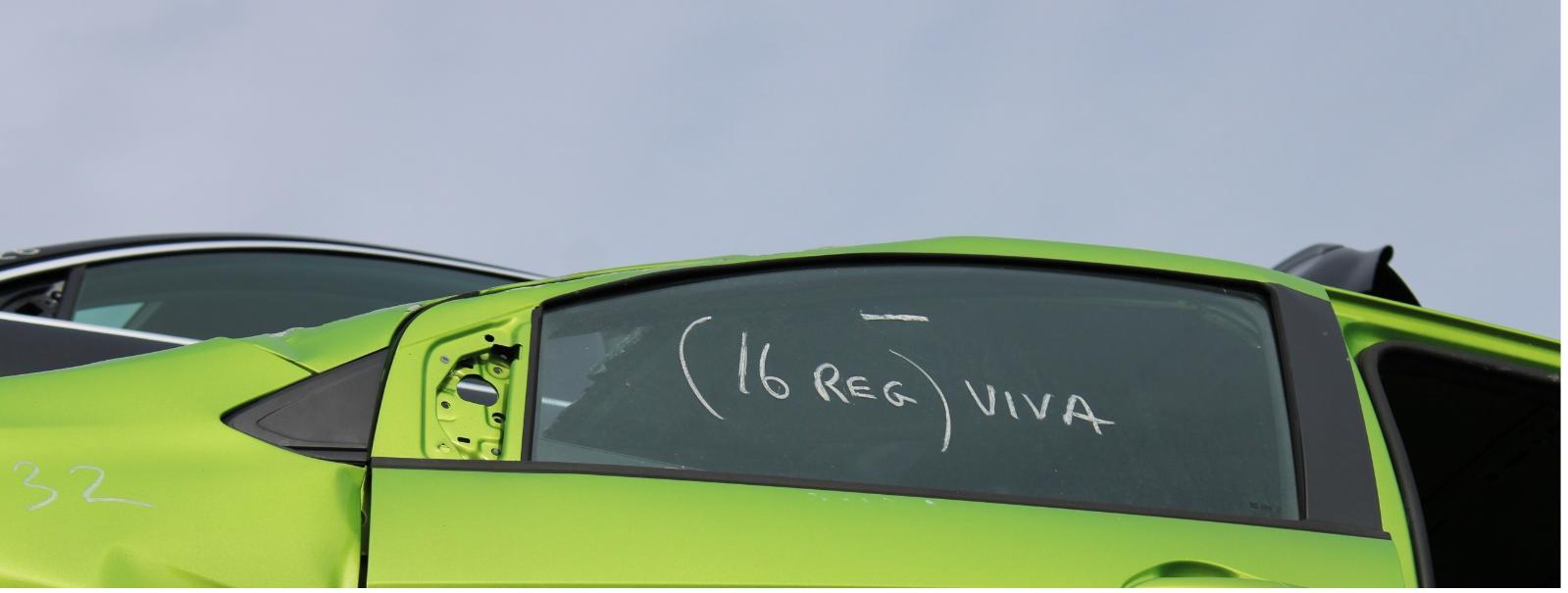 View Auto part LF Door Window VAUXHALL VIVA 2016