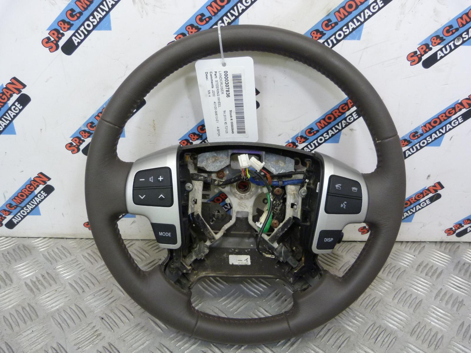 View Auto part Steering Wheel TOYOTA LAND CRUISER 2015