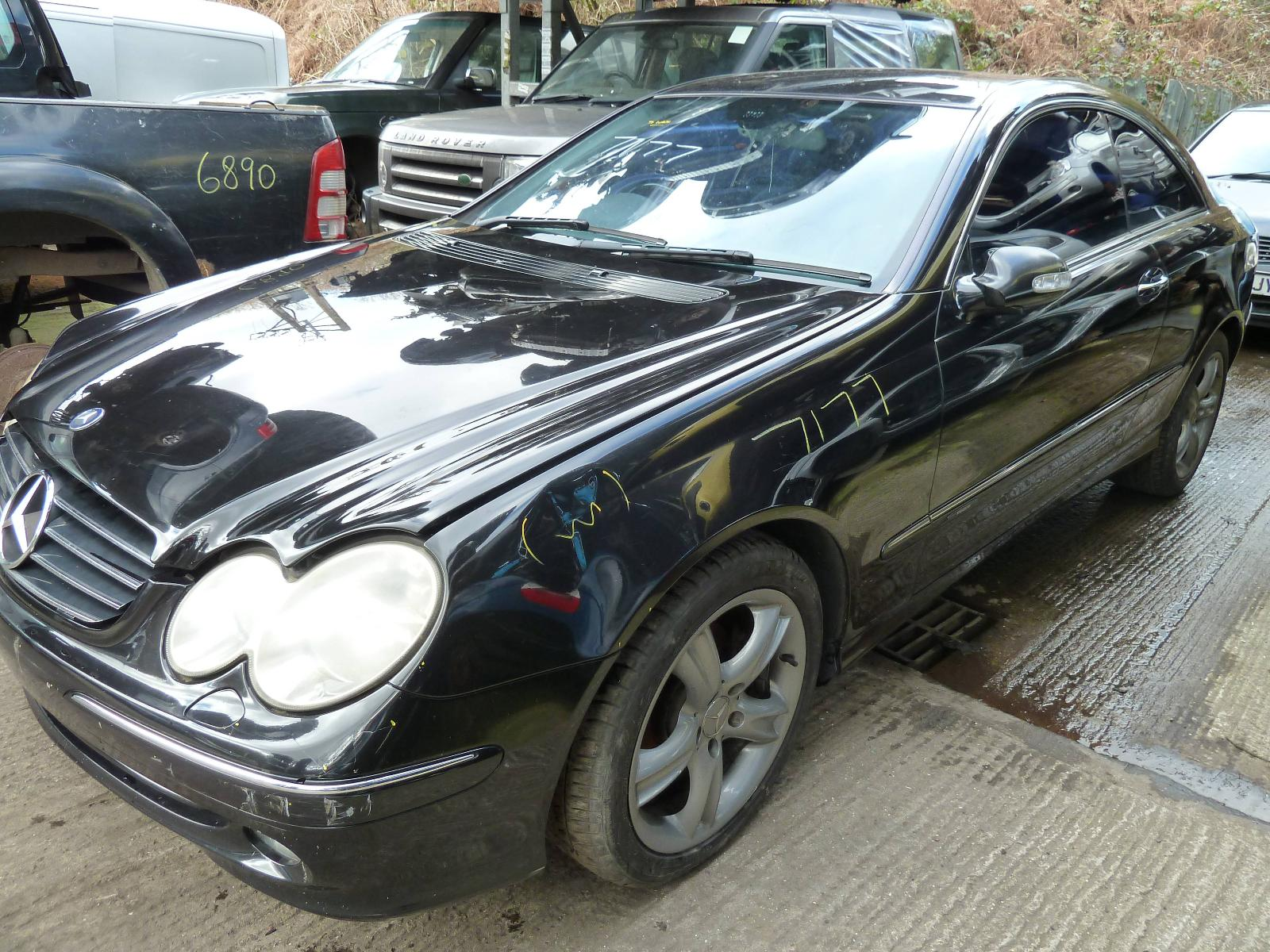 Image for a MERCEDES CLK 2002 2 Door Coupe