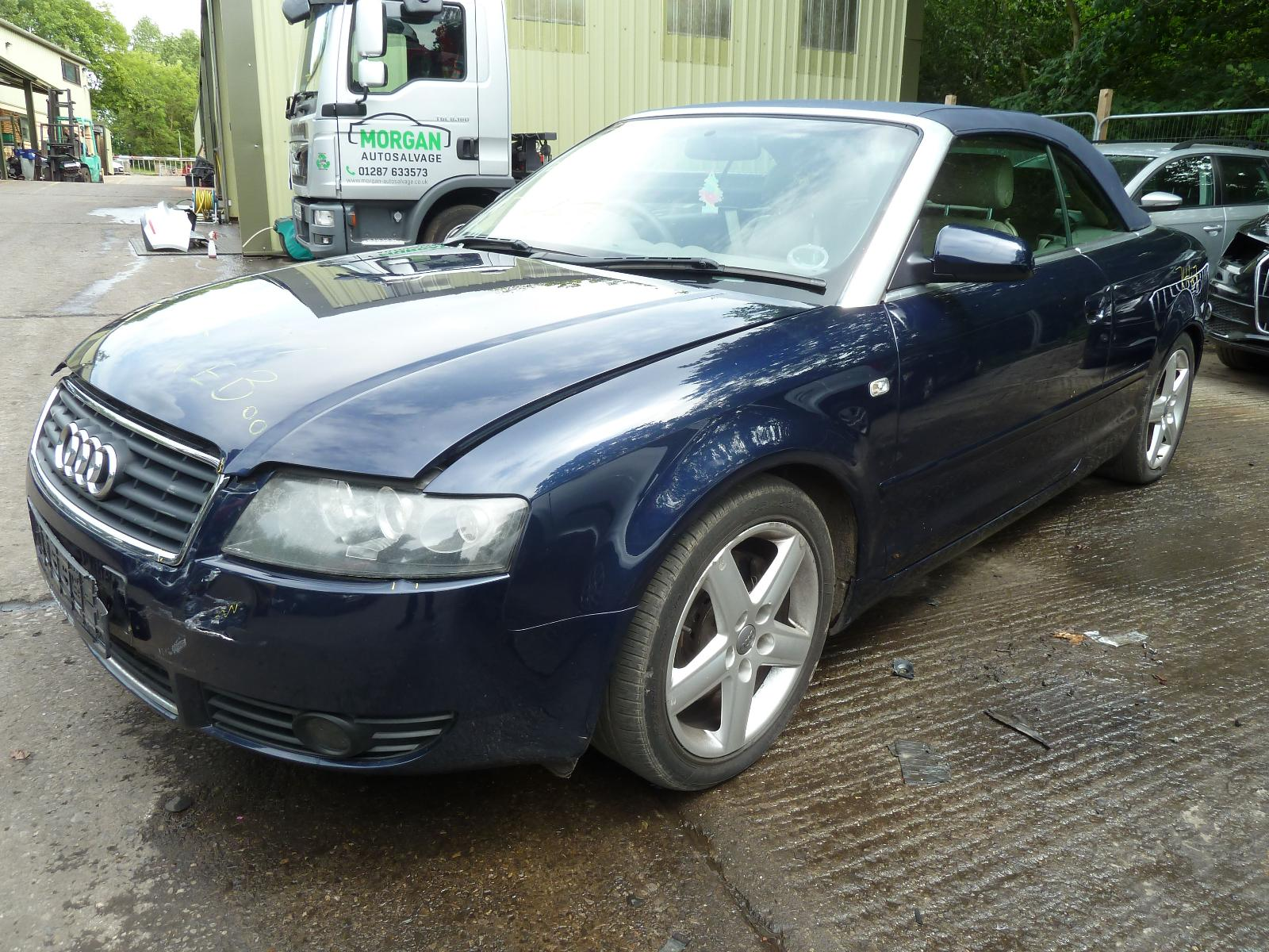 Image for a AUDI A4 2004 2 Door Convertable