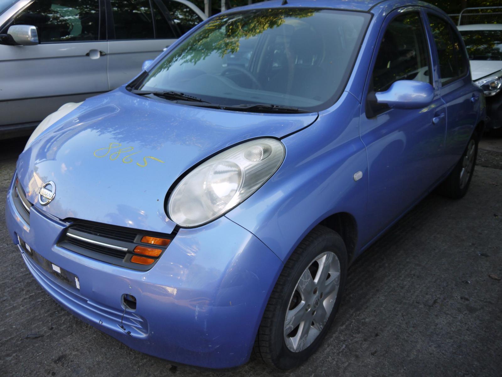 Image for a NISSAN MICRA 2004 5 Door Hatchback