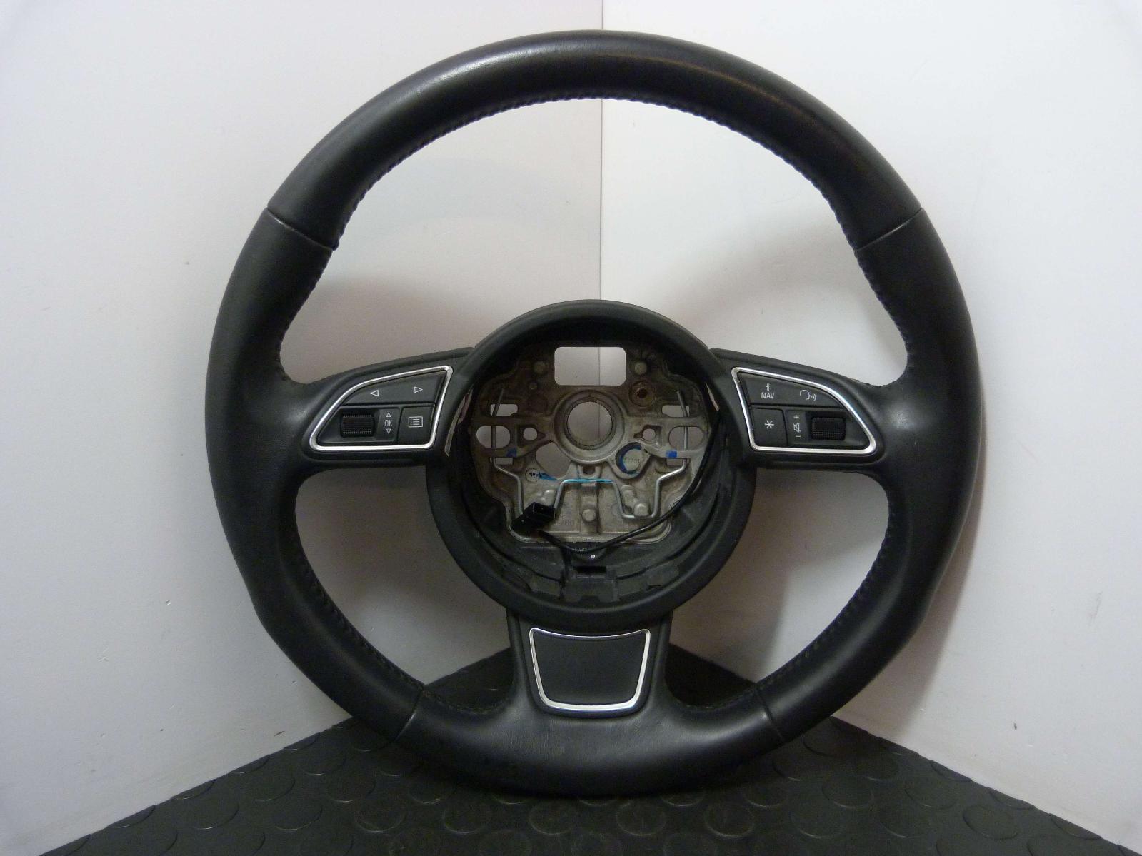 Audi A1 Steering Wheel With Fingertip Controls 4g0419091r 10 18 Breaking Ebay