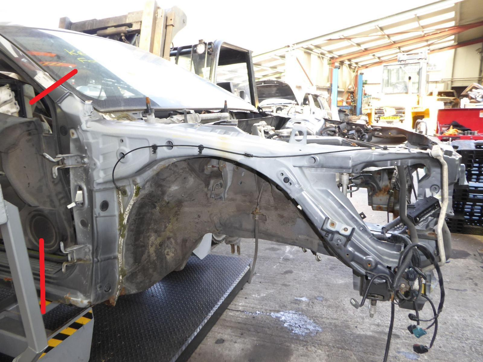 View Auto part Inner Structure HONDA ACCORD 2009