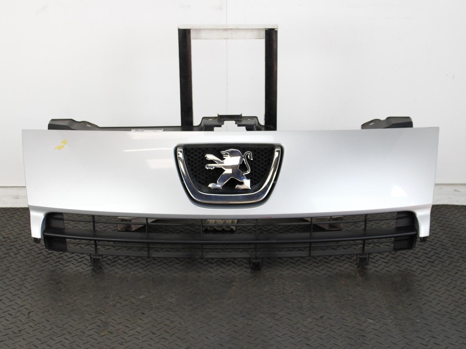 Peugeot Expert 2007 to 2012 Ft Bumper Black