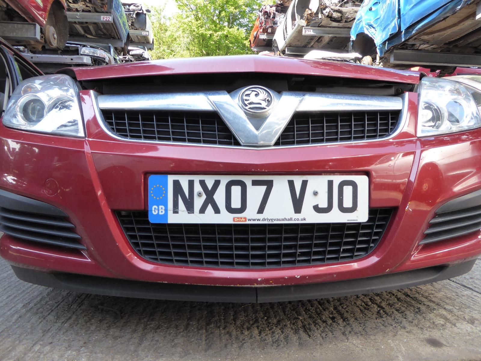 View Auto part Front Bumper VAUXHALL VECTRA 2007