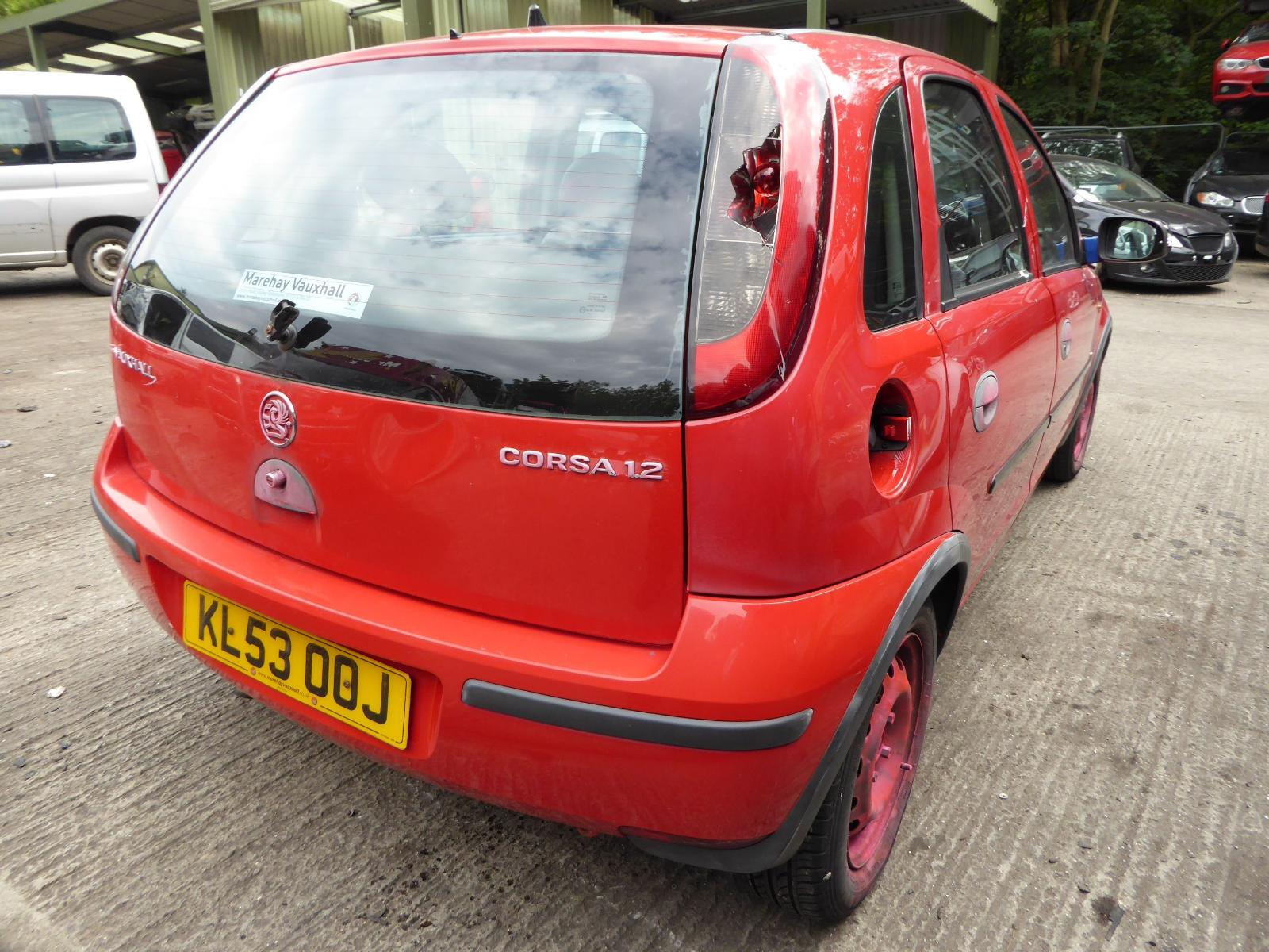View Auto part Bootlid/Tailgate VAUXHALL CORSA 2003