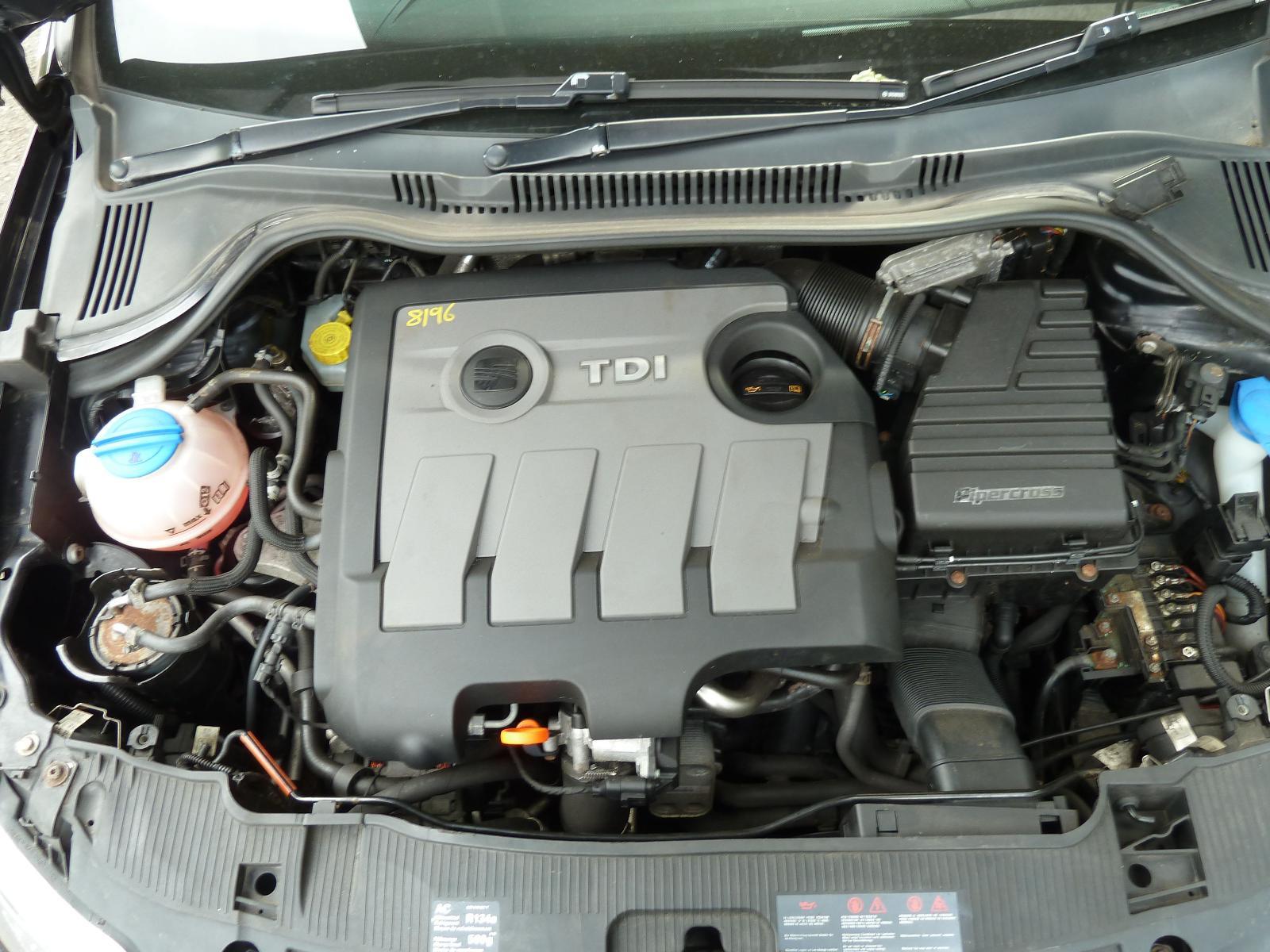 View Auto part Engine SEAT IBIZA 2010