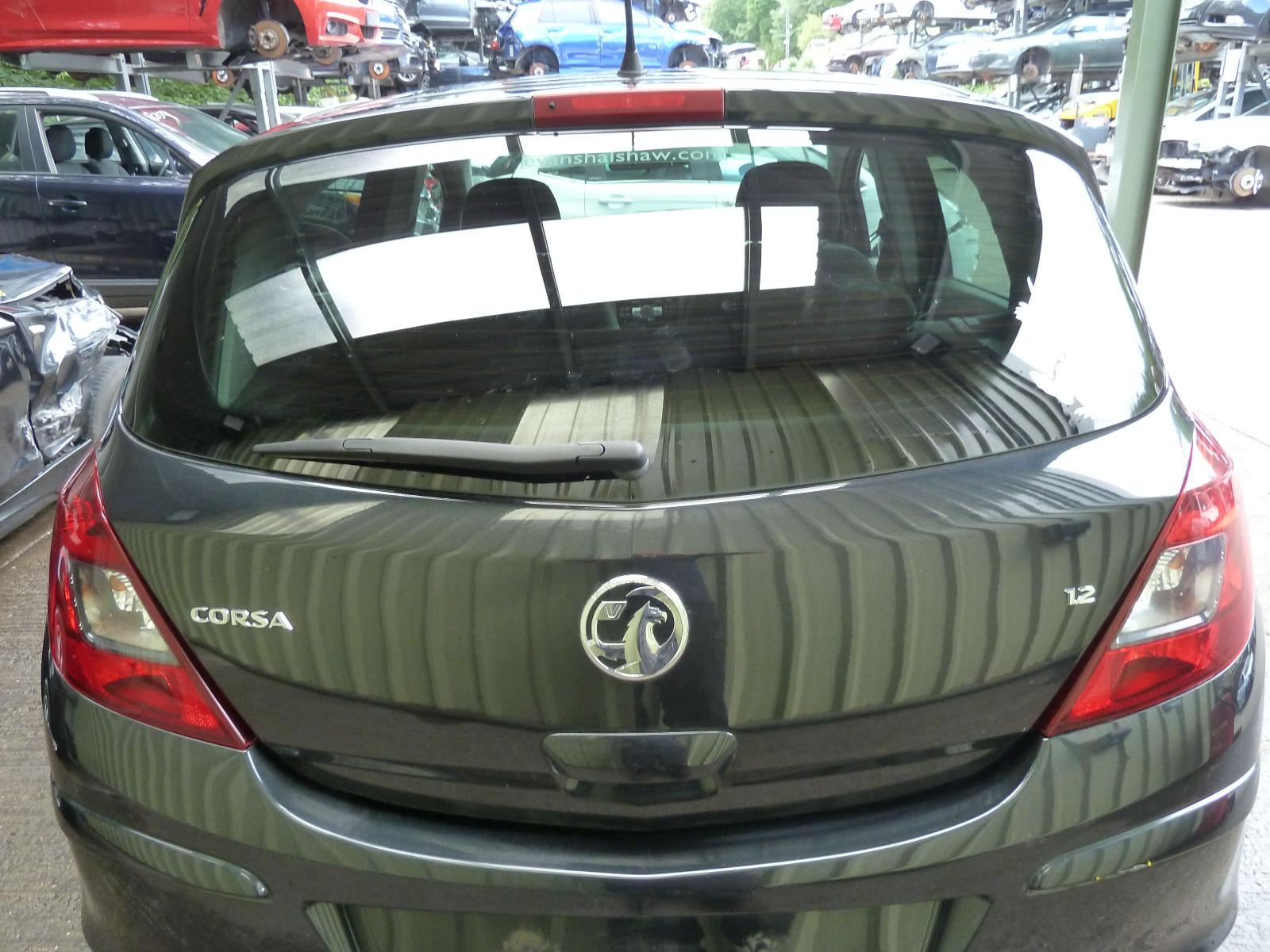 View Auto part Bootlid/Tailgate VAUXHALL CORSA 2013