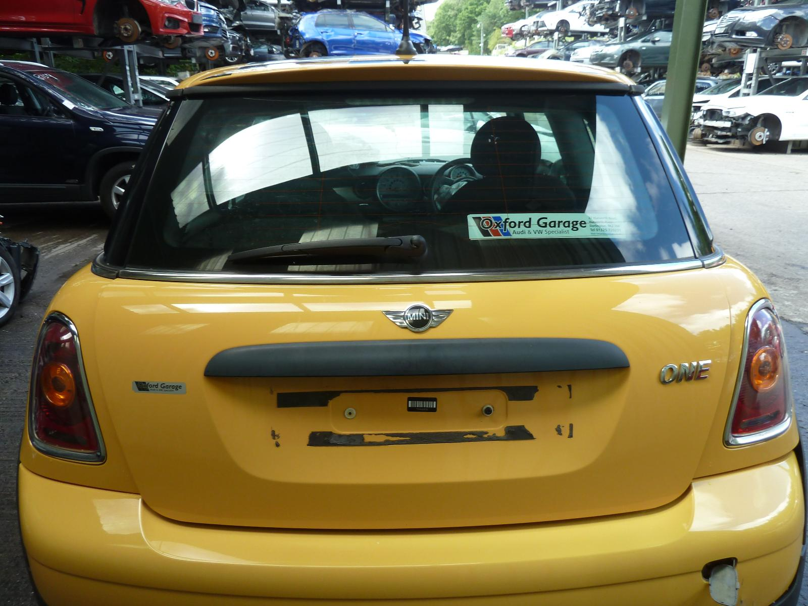 View Auto part Bootlid/Tailgate MINI (BMW) MINI 2010