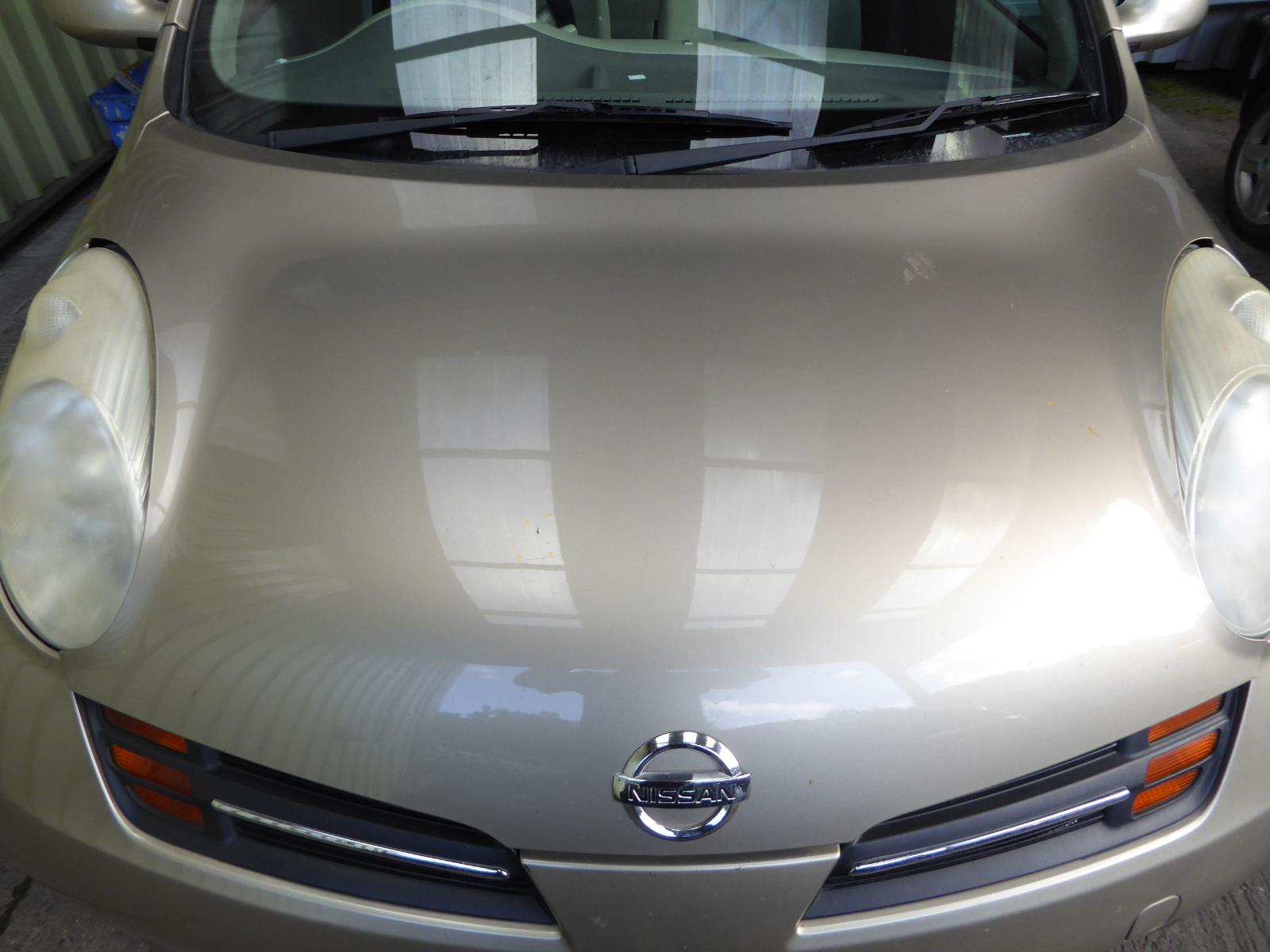 View Auto part Bonnet NISSAN MICRA 2005