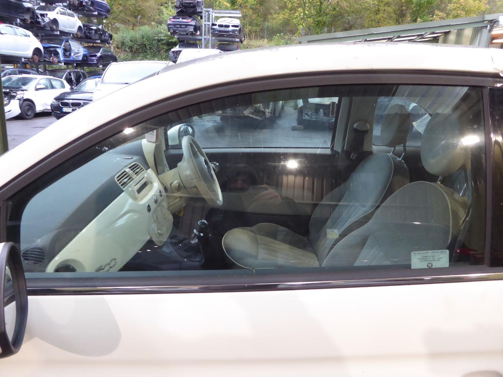 View Auto part LF Door Window FIAT 500 2012