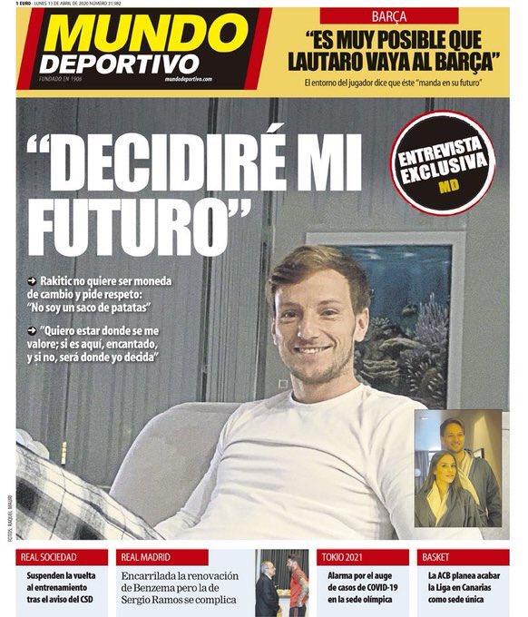 """صحيفة """"ديبورتيفو ألموندو"""""""