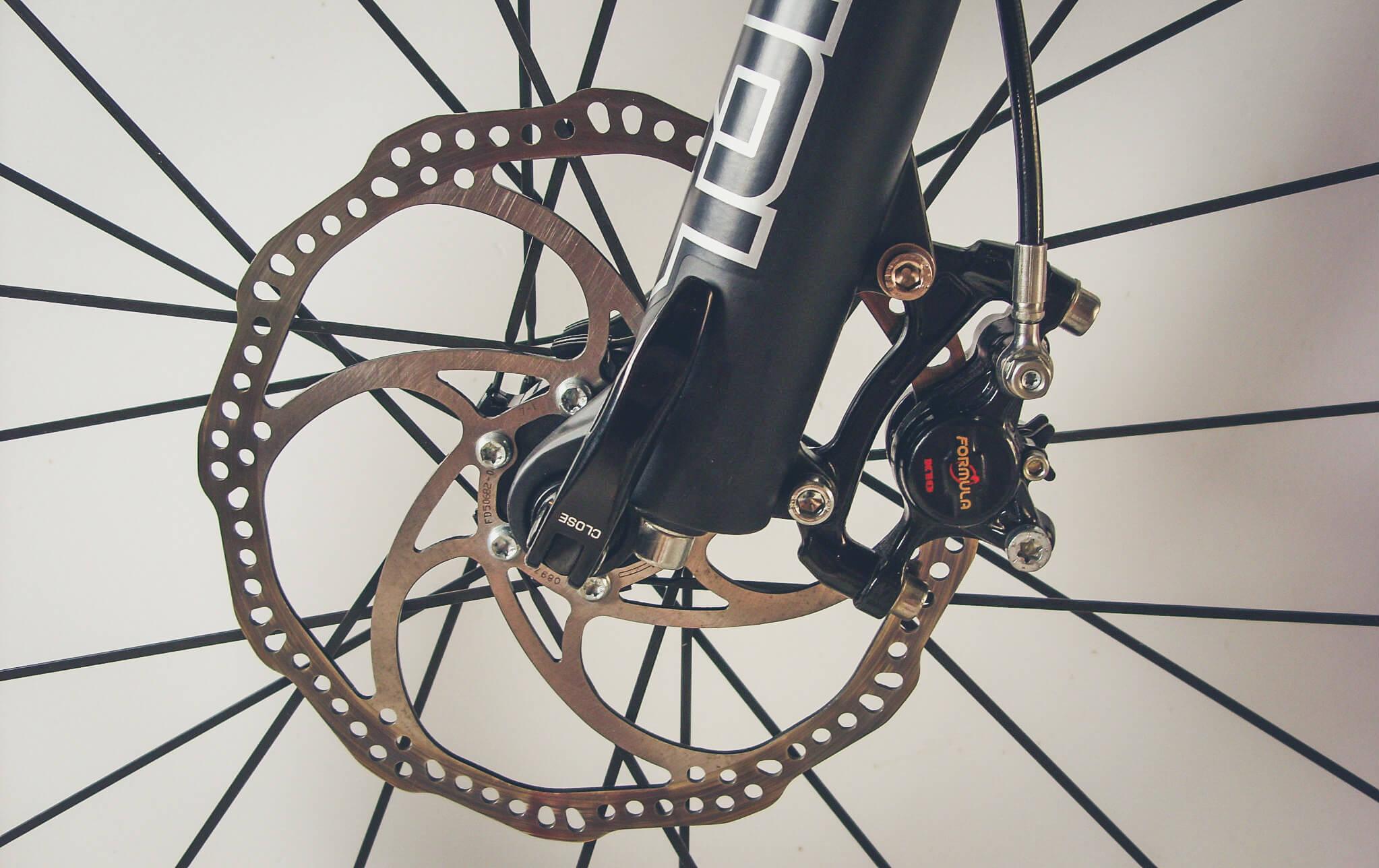 justera handbroms cykel