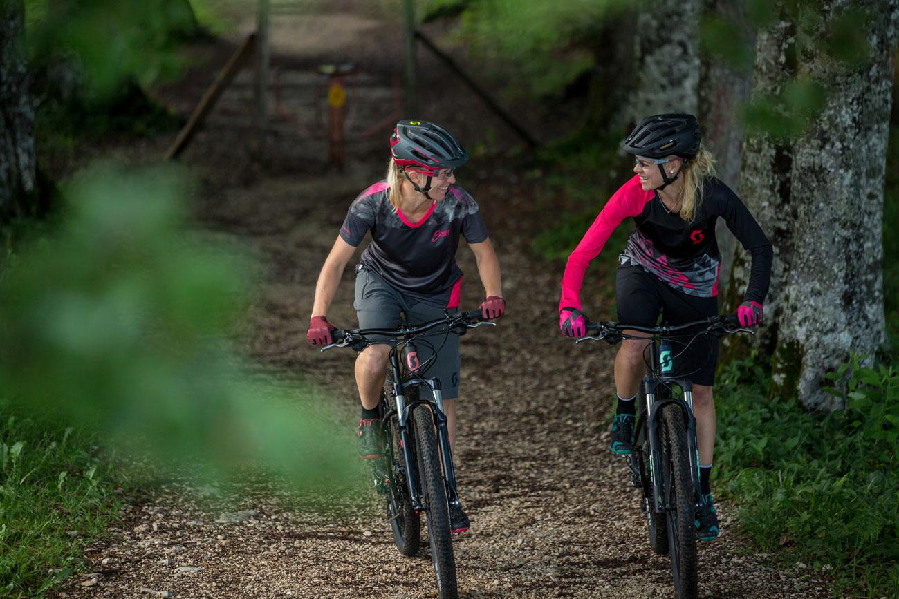 Vilka typer av mountainbike finns det