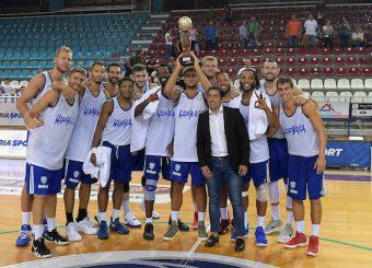 Brindisi vincitore del torneo Brindisi - Virtus Roma Torneo di Rieti Rieti 23/09/2018 Foto Ciamillo-Castoria