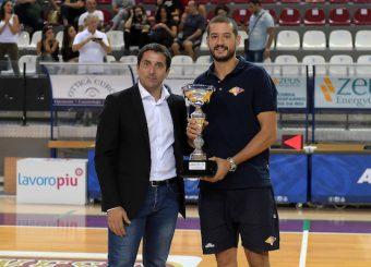 Massimo Chessa Brindisi - Virtus Roma Torneo di Rieti Rieti 23/09/2018 Foto Ciamillo-Castoria