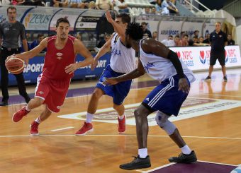 Andrea Saccaggi Brindisi - Virtus Roma Torneo di Rieti Rieti 23/09/2018 Foto Ciamillo-Castoria