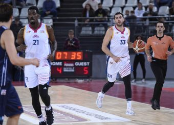 Marco SantiangeliVirtus Roma - Leonis RomaCampionato Basket LNP 2018/2019Roma 24/10/2018Gennaro Masi / Ciamillo-Castoria