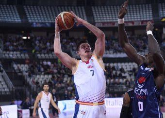 Amar AlibegovicVirtus Roma - Leonis RomaCampionato Basket LNP 2018/2019Roma 24/10/2018Gennaro Masi / Ciamillo-Castoria