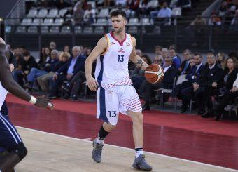 Tommaso BaldassoVirtus Roma - Leonis RomaCampionato Basket LNP 2018/2019Roma 24/10/2018Gennaro Masi / Ciamillo-Castoria