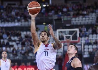 Nic MooreVirtus Roma - Leonis RomaCampionato Basket LNP 2018/2019Roma 24/10/2018Gennaro Masi / Ciamillo-Castoria