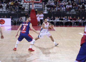 Virtus Roma - Novipiu Casale MonferratoCampionato Basket LNP 2018/2019Roma 04/11/2018Gennaro Masi / Ciamillo-Castoria