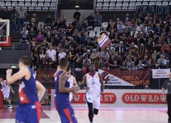 Virtus Roma - Novipiu Casale Monferrato Campionato Basket LNP 2018/2019 Roma 04/11/2018 Gennaro Masi / Ciamillo-Castoria