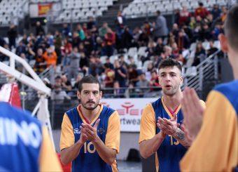 Massimo Chessa Tommaso Baldasso Virtus Roma - 2B Control Trapani Campionato Basket LNP 2018/2019 Roma 18/11/2018 Foto Gennaro Masi / Ciamillo-Castoria