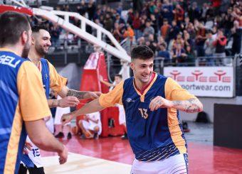 Tommaso Baldasso Virtus Roma - 2B Control Trapani Campionato Basket LNP 2018/2019 Roma 18/11/2018 Foto Gennaro Masi / Ciamillo-Castoria
