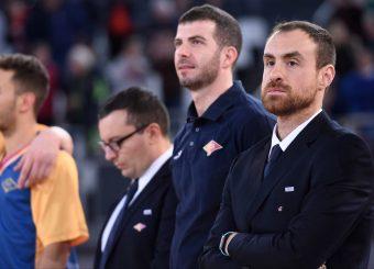 Francesco Carotti Virtus Roma - 2B Control Trapani Campionato Basket LNP 2018/2019 Roma 18/11/2018 Foto Gennaro Masi / Ciamillo-Castoria