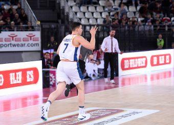 Amar Alibegovic Virtus Roma - 2B Control Trapani Campionato Basket LNP 2018/2019 Roma 18/11/2018 Foto Gennaro Masi / Ciamillo-Castoria
