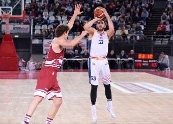 Marco Santiangeli Virtus Roma - 2B Control Trapani Campionato Basket LNP 2018/2019 Roma 18/11/2018 Foto Gennaro Masi / Ciamillo-Castoria