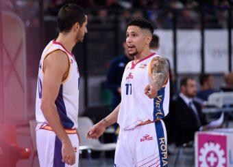 Massimo Chessa Nic Moore Virtus Roma - 2B Control Trapani Campionato Basket LNP 2018/2019 Roma 18/11/2018 Foto Gennaro Masi / Ciamillo-Castoria