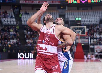 Marco Mollura Aristide Landi Virtus Roma - 2B Control Trapani Campionato Basket LNP 2018/2019 Roma 18/11/2018 Foto Gennaro Masi / Ciamillo-Castoria