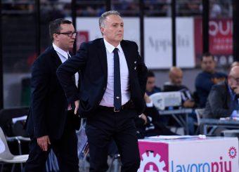 Piero Bucchi Virtus Roma - 2B Control Trapani Campionato Basket LNP 2018/2019 Roma 18/11/2018 Foto Gennaro Masi / Ciamillo-Castoria